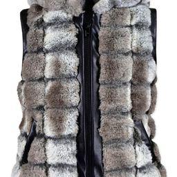 Hooded Faux Fur Vest   Nordstrom