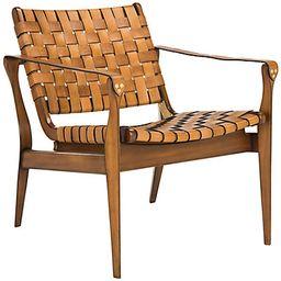 Safavieh Couture Dilan Leather Safari Chair | Ruelala