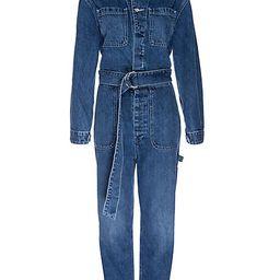 Hudson Jeans Women's Utility Denim Jumpsuit - Tempted - Size Small | Saks Fifth Avenue