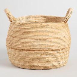 Large Banana Delilah Tote Basket | World Market