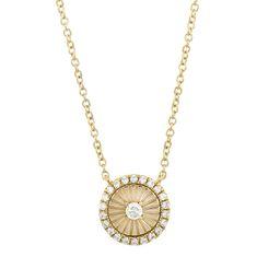 Ofira Sunrays Diamond Pendant Necklace | Nordstrom
