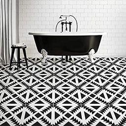 Aztec Tile Stencil - Tile Stencils for Painting Tile Floor - Reusable Tile Stencils for Linoleum ... | Amazon (US)