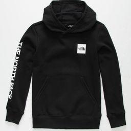 THE NORTH FACE Logowear Girls Black Hoodie   Tillys