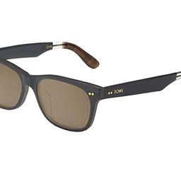 TOMS Beachmaster 301 Zeiss (Matte Black) Fashion Sunglasses   Zappos
