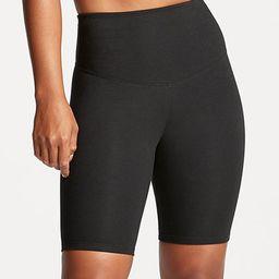 yummie Women's Shorts & Thigh Shapers Black - Black Mel Biker Shorts   Zulily
