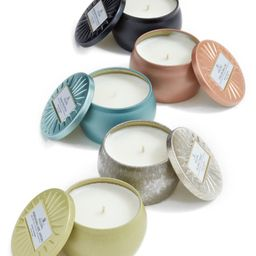 Vermeil Set of 5 Mini Tin Candles | Nordstrom