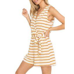 Lush Clothing Stripe Romper | Walmart (US)