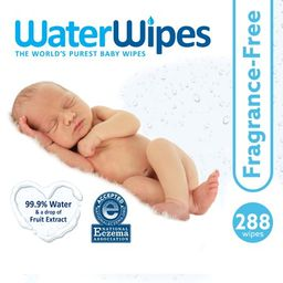 WaterWipes Sensitive Baby Wipes, Unscented, 288 Count (4 Packs of 72) | Walmart (US)