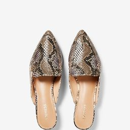 Textured Slide Loafers | Express