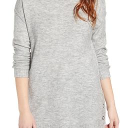 Side Snap Tunic Sweater   Nordstrom