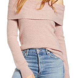 Off the Shoulder Sweater | Nordstrom