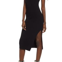 Rib Sleeveless Midi Dress | Nordstrom