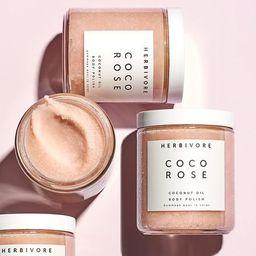 Coco Rose Exfoliating Body Scrub | Herbivore