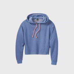Target/Women/Women's Clothing/Pajamas & Loungewear/LoungewearWomen's Cropped Hoodie - Wild Fab... | Target