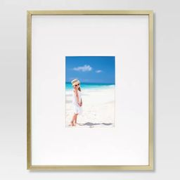 Thin Metal Matted Gallery Frame Gold - Project 62™   Target
