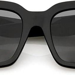 zeroUV - Retro Oversized Square Sunglasses for Women with Flat Lens 50mm | Amazon (US)