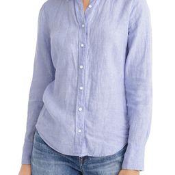 Slim Fit Perfect Piece-Dyed Irish Linen Shirt   Nordstrom