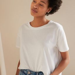 Loose-Fit Short-Sleeve Crop Tee for Women   Old Navy (US)