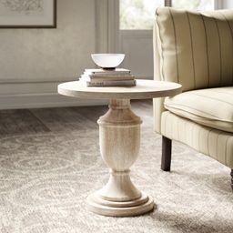 Dudley Pedestal End Table | Wayfair North America