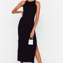 Standards High Ribbed Midi Dress | NastyGal (US & CA)