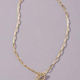 Chain Link Monogram Necklace   Anthropologie (US)