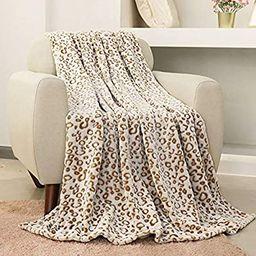 FY FIBER HOUSE Flannel Fleece Throw Blanket, Lightweight Cozy Plush Microfiber Bedspreads for Adu...   Amazon (US)