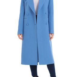 Double Breasted Wool Blend Coat   Nordstrom