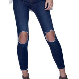 We the Free by Free People High Rise Busted Knee Skinny Jeans   Nordstrom