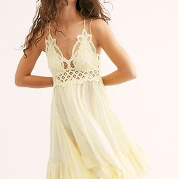 FP One Adella Slip by FP One at Free People, Daffodil, XS | Free People (US)