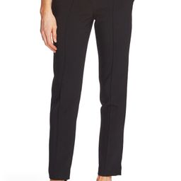 Pintuck Stretch Crepe Skinny Pants | Nordstrom