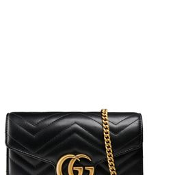 GG Matelassé Leather Wallet on a Chain | Nordstrom