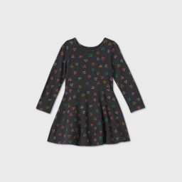 Toddler Girls' Long Sleeve Knit Dress - Cat & Jack™ | Target