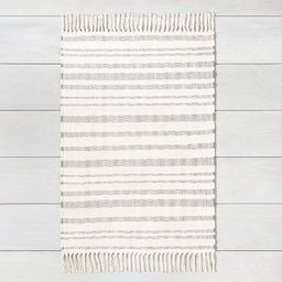 Stripe with Fringe Area Rug - Hearth & Hand™ with Magnolia   Target
