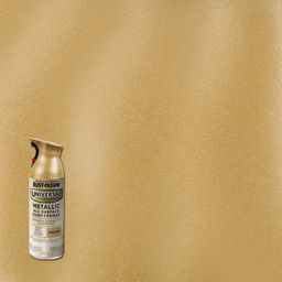11 oz. All Surface Metallic Pure Gold Spray Paint and Primer in One | The Home Depot