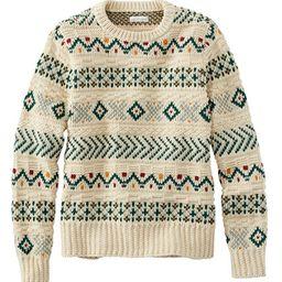 Women's Signature Cotton Fisherman Sweater, Pullover Fair Isle | L.L. Bean