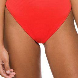 Barcelona Textured High Waist Bikini Bottom | Everything But Water
