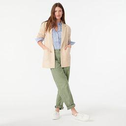 Sophie open-front sweater-blazer | J.Crew US