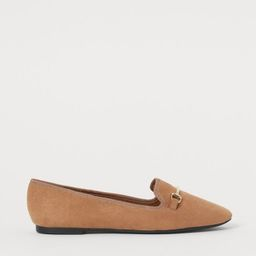 Flats with Metal Buckle | H&M (US)