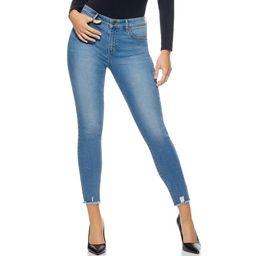 Sofia Jeans Rosa Curvy Ripped Hem High Waist Ankle Jean Women's, Regular Inseam   Walmart (US)