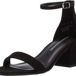 Amazon Essentials Women's Two Strap Heeled Sandal   Amazon (US)