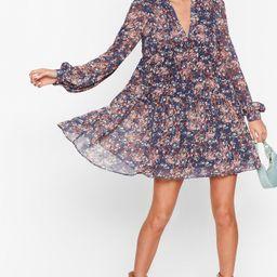 Grow the Score Floral Mini Dress   NastyGal (US & CA)