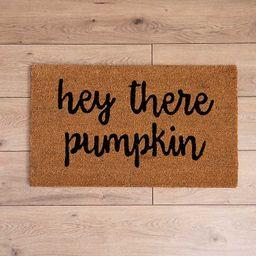New! Hey There Pumpkin Doormat   Kirkland's Home