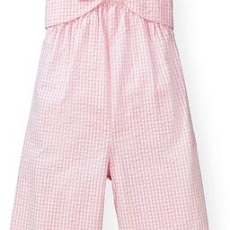 Girls' Bow Front Wide Leg Jumpsuit | Amazon (US)