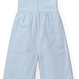 Girls' Wide Leg Sleeveless Jumpsuit with Bow Shoulders | Amazon (US)