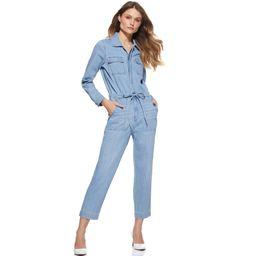 Scoop Women's Denim Jumpsuit | Walmart (US)