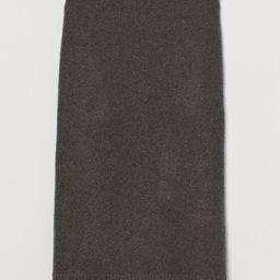 Fine-knit Pencil Skirt | H&M (US)