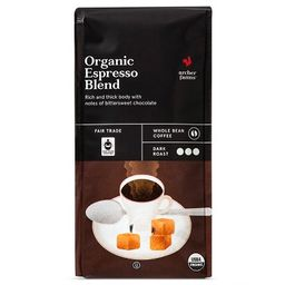 Organic Espresso Blend Dark Roast Whole Bean Coffee - 10oz - Archer Farms™   Target