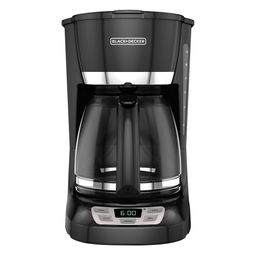 BLACK+DECKER 12-Cup* QuickTouch Programmable Coffeemaker, Black, CM1060B   Walmart (US)
