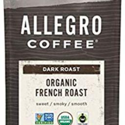 Allegro Coffee Organic French Roast Whole Bean Coffee, 12 oz   Amazon (US)