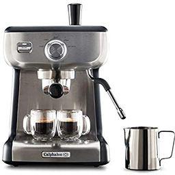 Calphalon BVCLECMP1 Temp iQ Espresso Machine with Steam Wand, Stainless   Amazon (US)